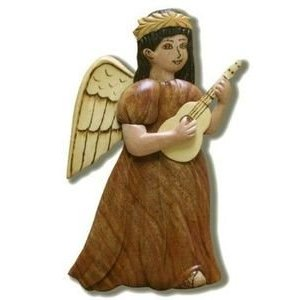 Ukulele Angel Ornament on Amazon