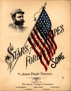 the stars and stripes forever sheet music cover