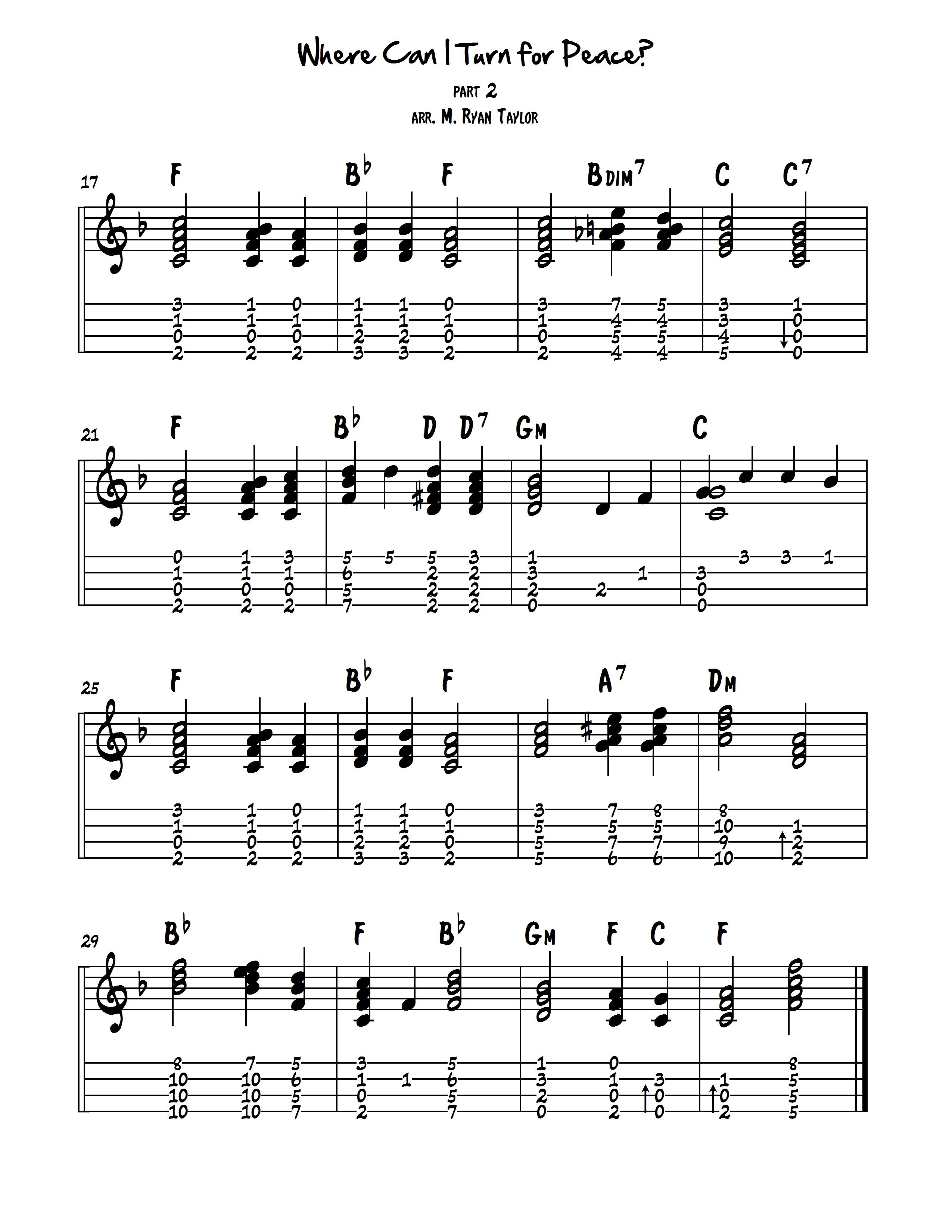 Chord melody arranging part 2 transposing hexwebz Images